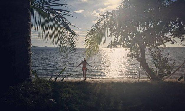 Kamperen op een onbewoond eiland in de Filipijnen